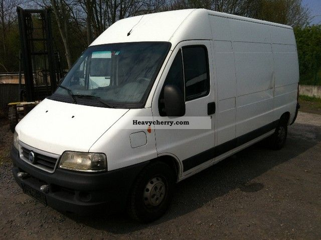 fiat ducato 2 8 jtd h l bj06 2006 box type delivery van high and long photo and specs. Black Bedroom Furniture Sets. Home Design Ideas