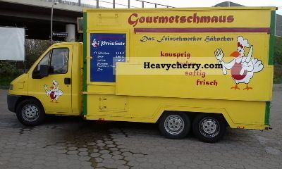 1999 Fiat  Chicken sales mobile Van or truck up to 7.5t Traffic construction photo