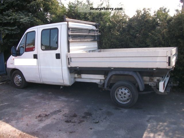 2003 Fiat  Ducato 15 2.8 JTD DOKA Van or truck up to 7.5t Stake body photo