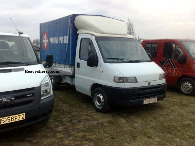 Fiat Paka Ducato 2 5d   Plan Deka 1995 Stake Body And Tarpaulin Truck Photo And Specs
