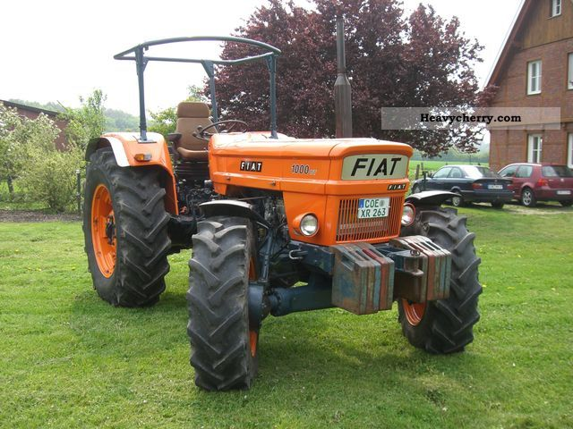 1975 Fiat  1000 DT Agricultural vehicle Tractor photo