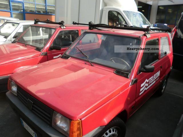 2003 Fiat  Panda Van or truck up to 7.5t Other vans/trucks up to 7 photo