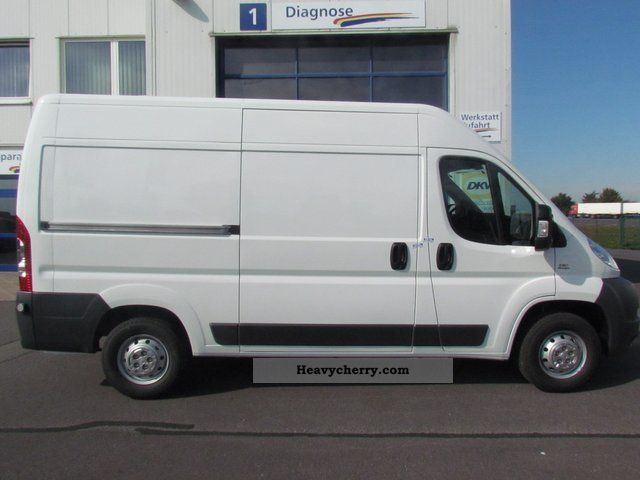 fiat ducato 30 l2h2 130 multijet 2011 box-type delivery van - high