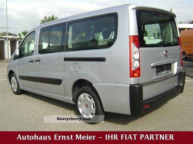 fiat scudo panorama family 10 l2h1 140 multijet 2010 estate minibus up to 9 seats truck photo. Black Bedroom Furniture Sets. Home Design Ideas