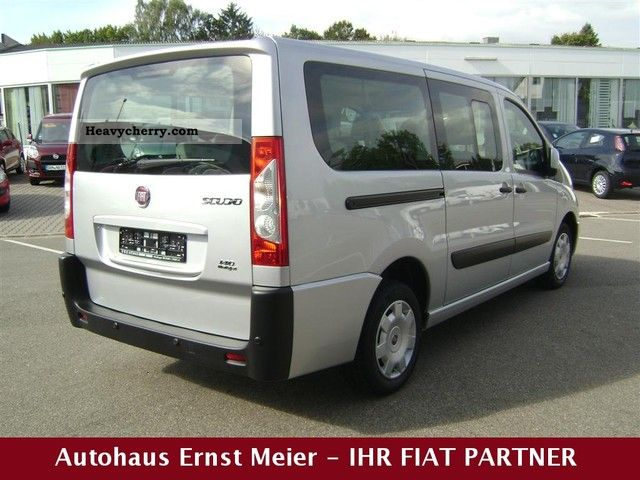 fiat scudo panorama family 10 l2h1 140 multijet 2010 estate minibus up to 9 seats truck photo. Black Bedroom Furniture Sets. Home Design Ideas