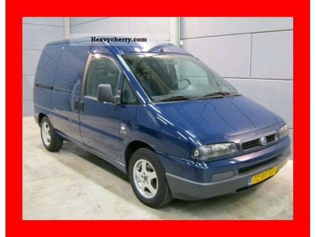 2003 Fiat  Scudo 2.0 16v 110 PK Jtd vrij zijschuifdeur BPM! Van or truck up to 7.5t Box-type delivery van photo