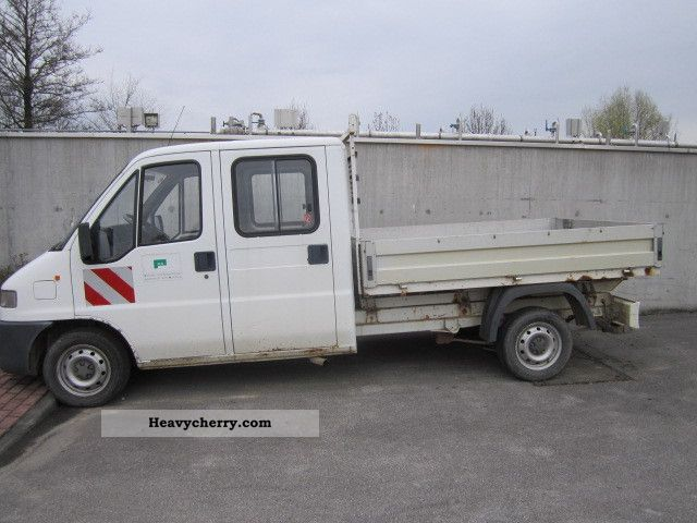 1999 Fiat  Bravo Van or truck up to 7.5t Stake body photo