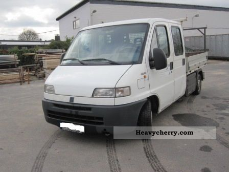 2001 Fiat  Bravo Van or truck up to 7.5t Stake body photo