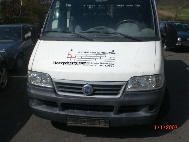2003 Fiat  bravo jtd 15-2.3 Van or truck up to 7.5t Stake body photo