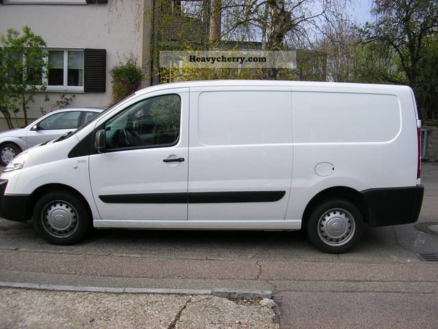 fiat scudo h1l2 2010 box type delivery van long photo. Black Bedroom Furniture Sets. Home Design Ideas