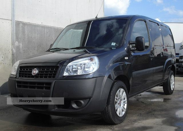 fiat doblo cargo multijet 1 9 maxi climate 2008 box type delivery van long photo and specs. Black Bedroom Furniture Sets. Home Design Ideas
