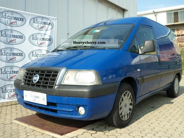 fiat scudo 2 0 jtd furgone 2004 other vans trucks up to 7 photo and specs. Black Bedroom Furniture Sets. Home Design Ideas