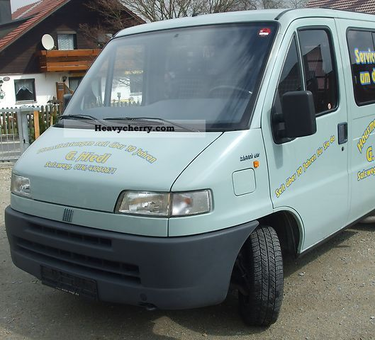 fiat ducato 230 l 1996 other vans trucks up to 7 photo and. Black Bedroom Furniture Sets. Home Design Ideas