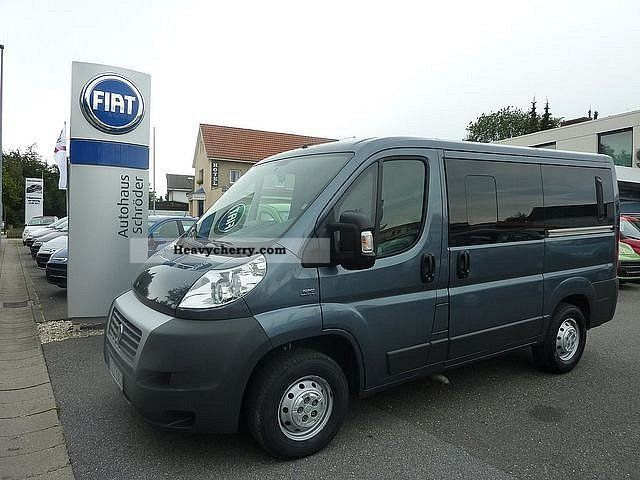 fiat ducato kombi 30 120 l1h1 diesel 9 seater towbar climate 2010 estate minibus up to 9 seats. Black Bedroom Furniture Sets. Home Design Ideas