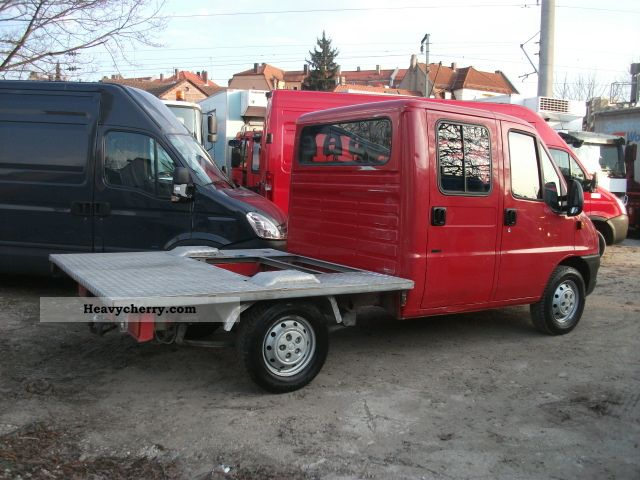 fiat ducato 2 8 jtd doka 4x4 apc immobilizer 2005 stake body truck photo and specs. Black Bedroom Furniture Sets. Home Design Ideas
