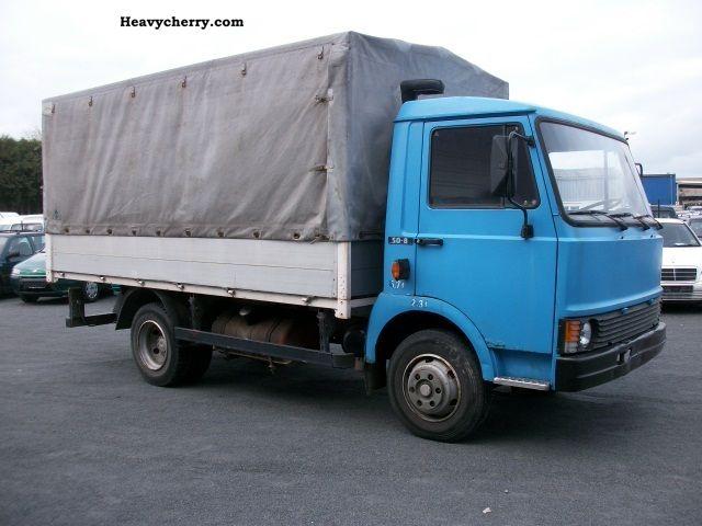 1984 Fiat  VEICOLI * 50-8 * 100000TKM 1Hand * Van or truck up to 7.5t Stake body and tarpaulin photo