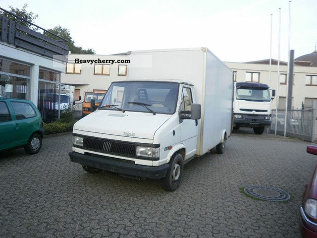 1992 Fiat  Bravo Van or truck up to 7.5t Box photo