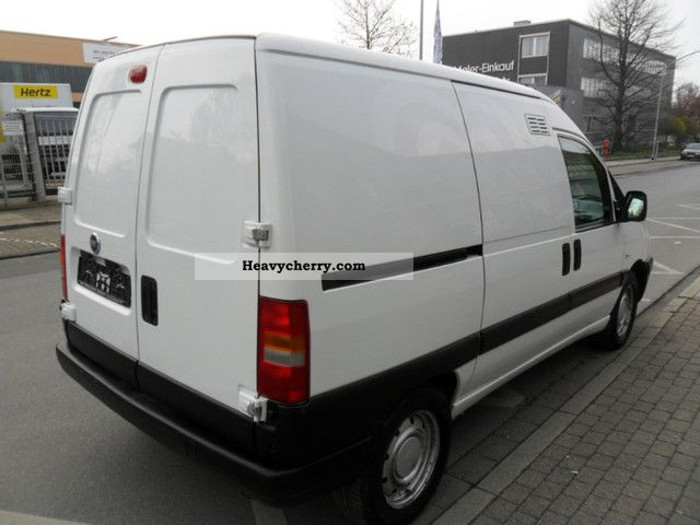fiat scudo 2003 box type delivery van photo and specs. Black Bedroom Furniture Sets. Home Design Ideas