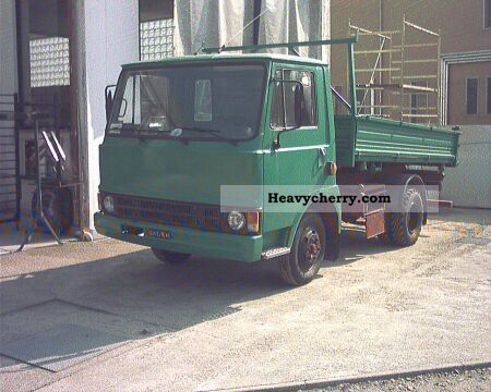 1980 Fiat  50 NC RIBALTABILE TRILATERAL Van or truck up to 7.5t Dumper truck photo