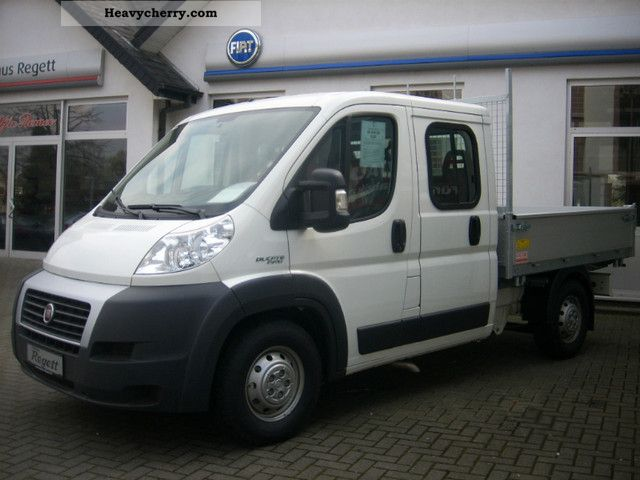 2011 Fiat  Ducato Maxi chassis with double cab Van or truck up to 7.5t Three-sided Tipper photo