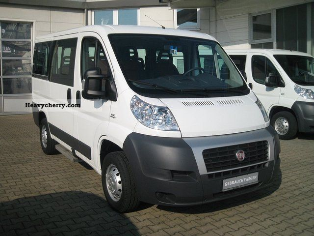 fiat ducato kombi 30 100 l1h1 9 seater 2011 estate minibus up to 9 seats truck photo and specs. Black Bedroom Furniture Sets. Home Design Ideas