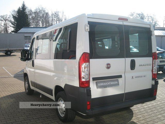 fiat ducato kombi 30 100 l1h1 9 seater 2011 estate. Black Bedroom Furniture Sets. Home Design Ideas