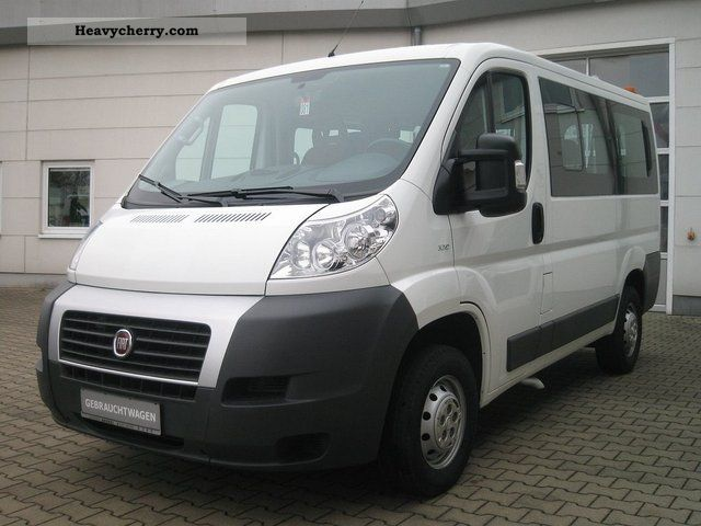 fiat ducato kombi 30 100 2008 estate minibus up to 9. Black Bedroom Furniture Sets. Home Design Ideas