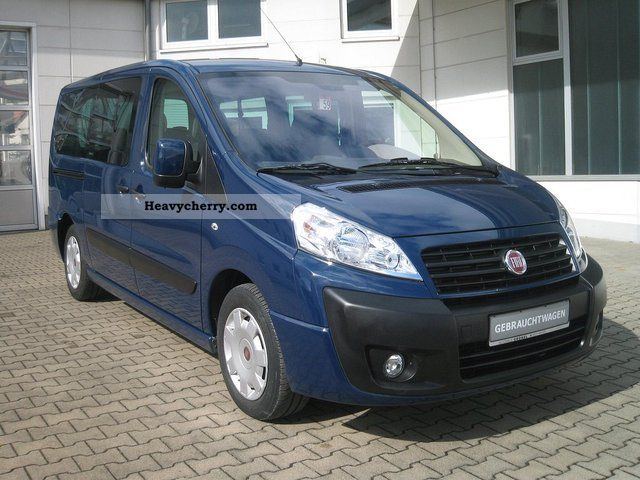 fiat scudo combi l2h1 8 seats 120 multijet 2009 box type delivery van photo and specs. Black Bedroom Furniture Sets. Home Design Ideas
