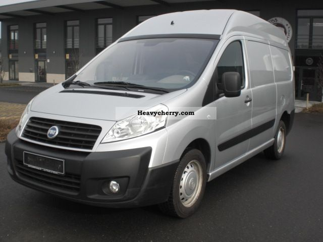 fiat scudo l2h2 12 sx high roof 112000km 1 hand 2007 box. Black Bedroom Furniture Sets. Home Design Ideas