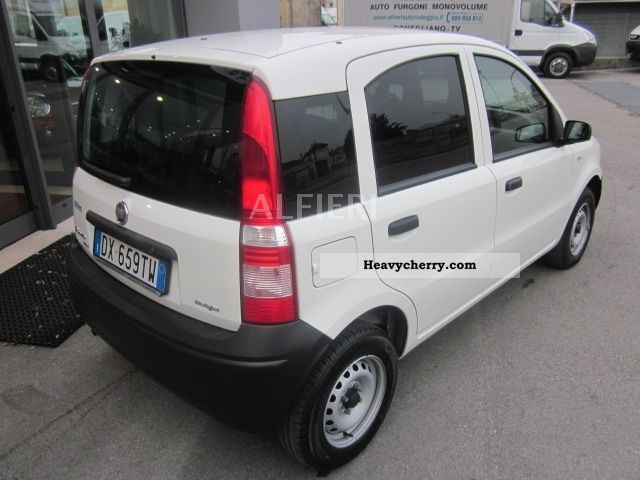 fiat panda van 1 3mj 2 posti climate 2009 box type. Black Bedroom Furniture Sets. Home Design Ideas
