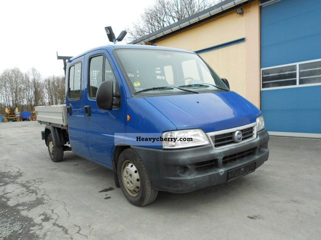 2003 Fiat  244 D, Doka, open box truck, MOT till 10/2013 Van or truck up to 7.5t Stake body photo