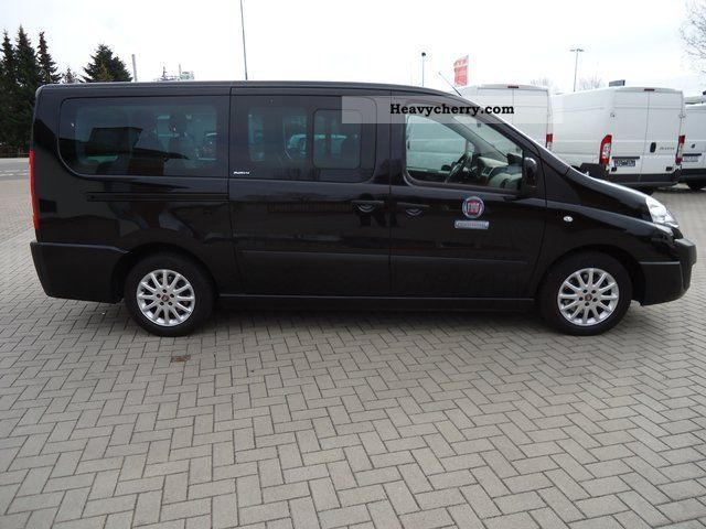 fiat scudo panorama special vehicle modular expansion 2011 estate minibus up to 9 seats. Black Bedroom Furniture Sets. Home Design Ideas