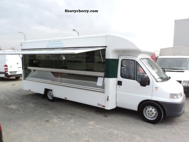 2001 Fiat  Ducato 1.9 TD-construction sales 2HAND # # 30Tkm 2Sitzer Van or truck up to 7.5t Traffic construction photo