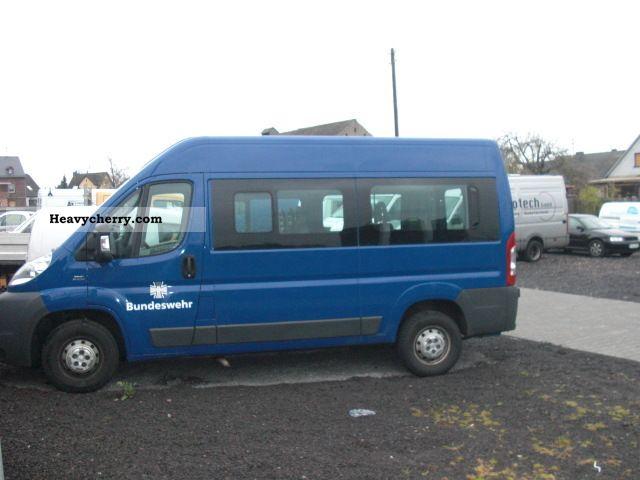 fiat ducato l2h2 2008 estate minibus up to 9 seats truck. Black Bedroom Furniture Sets. Home Design Ideas