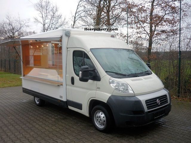 2007 Fiat  Ducato mobile bakery / breakfast mobile Van or truck up to 7.5t Traffic construction photo