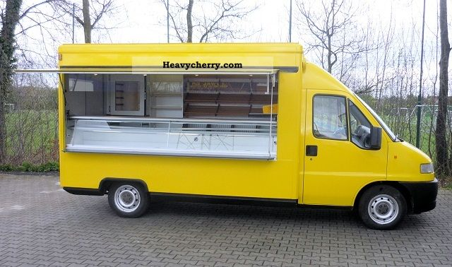 1999 Fiat  Ducato cars baker / breakfast mobile Van or truck up to 7.5t Traffic construction photo