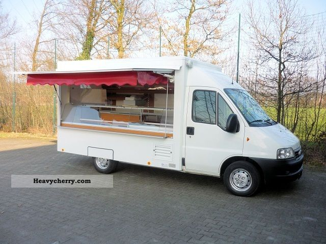 2004 Fiat  Ducato bakery / breakfast bar mobile with cooling Van or truck up to 7.5t Traffic construction photo