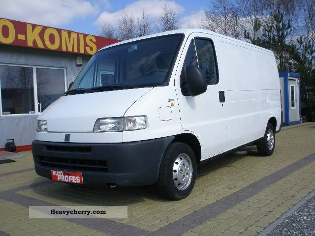 2001 Fiat  Ducato 2.8 D Van or truck up to 7.5t Other vans/trucks up to 7 photo