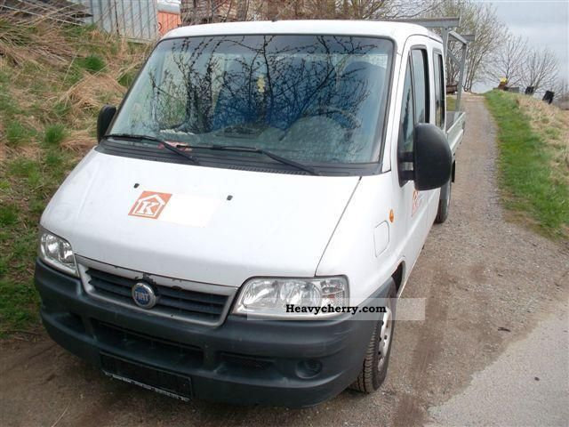 2003 Fiat  Ducato 15 2.3 JTD Van or truck up to 7.5t Stake body photo