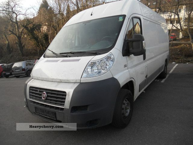 fiat ducato l4h2 3 3 t 2009 box type delivery van high. Black Bedroom Furniture Sets. Home Design Ideas
