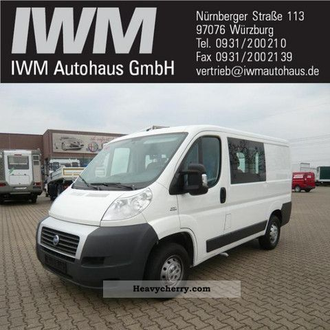 2007 Fiat  30 Combined Ducato L1H1 part glazed climate Van or truck up to 7.5t Estate - minibus up to 9 seats photo