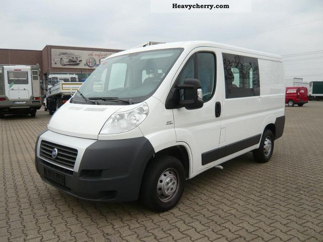 fiat 30 combined ducato l1h1 part glazed climate 2007 estate minibus up to 9 seats truck photo. Black Bedroom Furniture Sets. Home Design Ideas