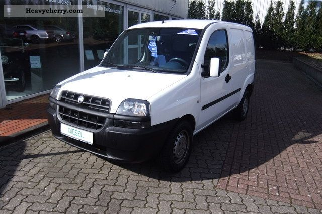 fiat doblo cargo sx 2003 other vans trucks up to 7 photo and specs. Black Bedroom Furniture Sets. Home Design Ideas