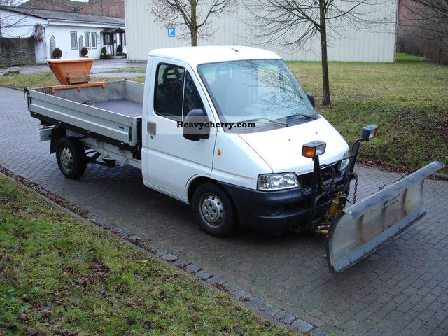 2003 Fiat  Ducato 4x4 3-way tipper + WINTER SERVICE Van or truck up to 7.5t Three-sided Tipper photo