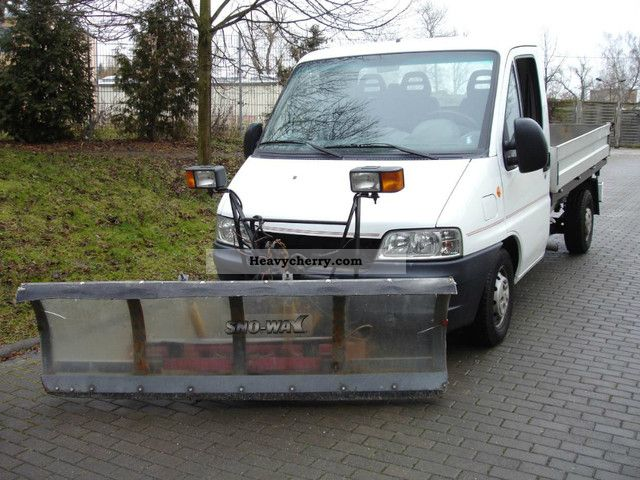 fiat ducato 4x4 3 way tipper winter service 2003 three sided tipper truck photo and specs. Black Bedroom Furniture Sets. Home Design Ideas