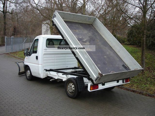 fiat ducato 4x4 3 way tipper winter service 2003 tipper truck photo and specs. Black Bedroom Furniture Sets. Home Design Ideas