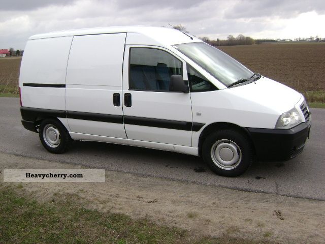 fiat scudo 1 9 d truck 2004 box type delivery van. Black Bedroom Furniture Sets. Home Design Ideas