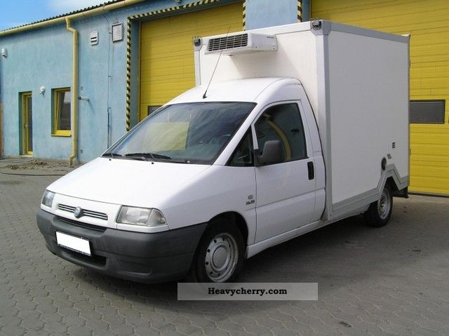 fiat scudo 2 0 jtd 2003 refrigerator body truck photo and specs. Black Bedroom Furniture Sets. Home Design Ideas
