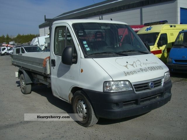 2003 Fiat  Ducato 2.8 JTD Van or truck up to 7.5t Stake body photo