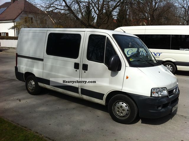 2003 Fiat  Ducato 2.3 JTD Van or truck up to 7.5t Box-type delivery van - long photo